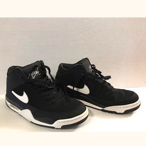 Nike Air Flight Mid Men's Size 9.5 Black/White